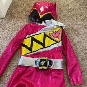 Pink power ranger costume - toddler
